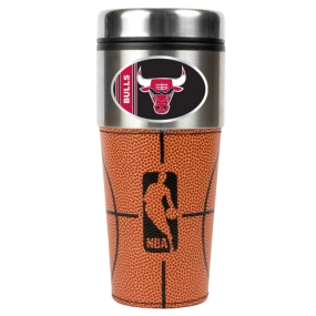 Chicago Bulls 16oz GameBall Travel Tumbler