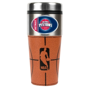 Detroit Pistons 16oz GameBall Travel Tumbler