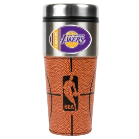 Los Angeles Lakers 16oz GameBall Travel Tumbler