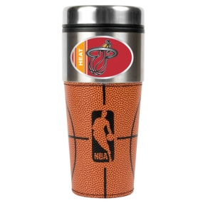 Miami Heat 16oz GameBall Travel Tumbler