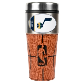 Utah Jazz 16oz GameBall Travel Tumbler