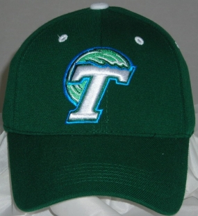 Tulane Green Wave Team Color One Fit Hat