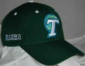 Tulane Green Wave Adjustable Hat