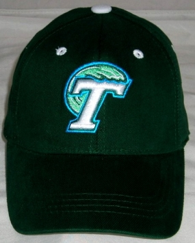 Tulane Green Wave Youth Team Color One Fit Hat