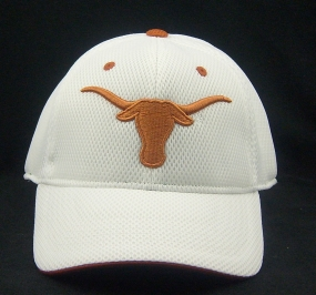 Texas Longhorns White Elite One Fit Hat