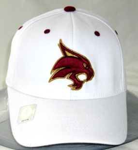 Texas State Bobcats White One Fit Hat