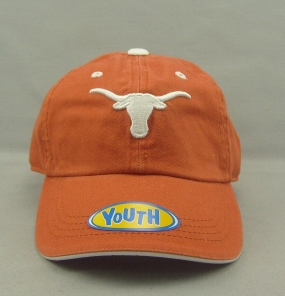 Texas Longhorns Youth Crew Adjustable Hat