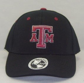 Texas A&M Aggies Black One Fit Hat