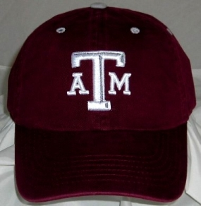 Texas A&M Aggies Adjustable Crew Hat