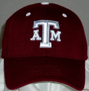 Texas A&M Aggies Team Color One Fit Hat
