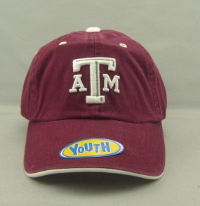 Texas A&M Aggies Youth Crew Adjustable Hat