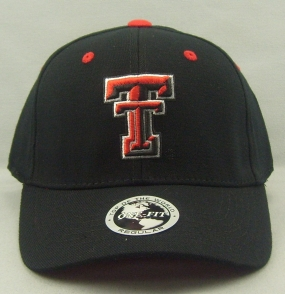 Texas Tech Red Raiders Black One Fit Hat