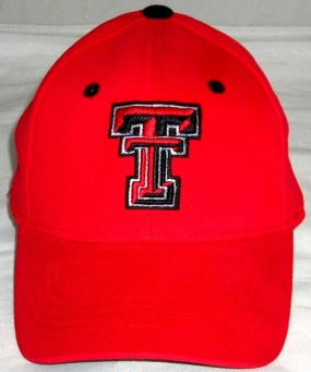 Texas Tech Red Raiders Youth Team Color One Fit Hat