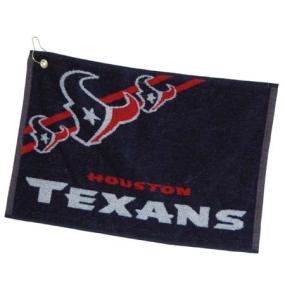 Houston Texans Jacquard Golf Towel