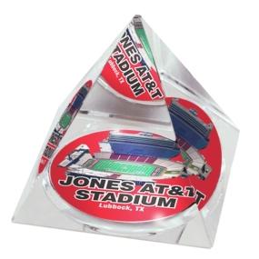 Texas Tech Red Raiders Crystal Pyramid