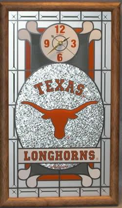 Texas Longhorns Wall Clock