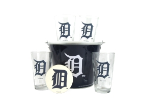Detroit Tigers Gift Bucket Set