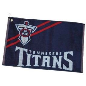 Tennessee Titans Jacquard Golf Towel