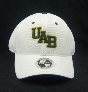 UAB Blazers White Elite One Fit Hat