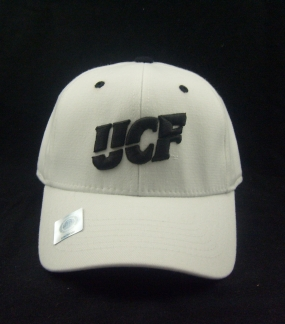 UCF Golden Knights White One Fit Hat