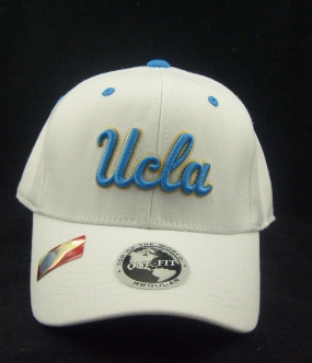 UCLA Bruins White One Fit Hat