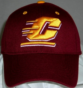 Central Michigan Chippewas Team Color One Fit Hat