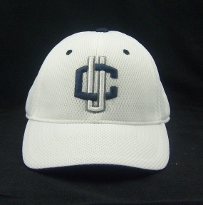 Connecticut Huskies White Elite One Fit Hat