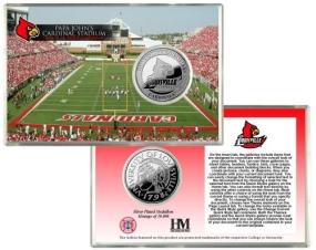Louisville Cardinals Coin Card