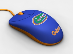 Florida Gators Optical Computer Mouse