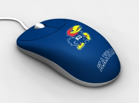 Kansas Jayhawks Optical Computer Mouse