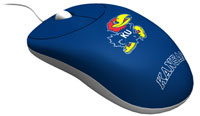 Rhinotronix Kansas Jayhawks University Mouse