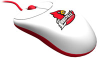 Rhinotronix Louisville Cardinals University Mouse