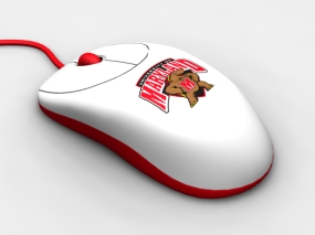 Maryland Terrapins Optical Computer Mouse