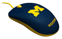 Rhinotronix Michigan Wolverines University Mouse