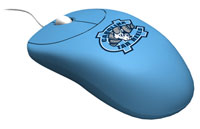 Rhinotronix North Carolina Tar Heels University Mouse