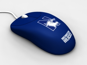 Northwestern Wildcats Optical Computer Mouse