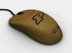 Purdue Boilermakers Optical Computer Mouse