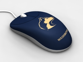 Washington Huskies Optical Computer Mouse