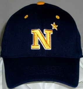 Navy Midshipmen Team Color One Fit Hat
