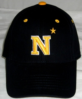 Navy Midshipmen Youth Team Color One Fit Hat
