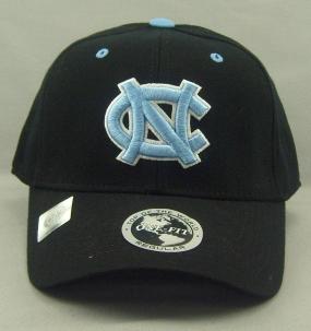 UNC Tar Heels Black One Fit Hat