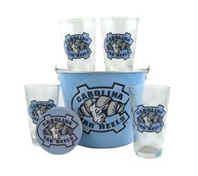 UNC Tar Heels Gift Bucket Set