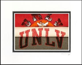 UNLV Runnin' Rebels Vintage T-Shirt Sports Art