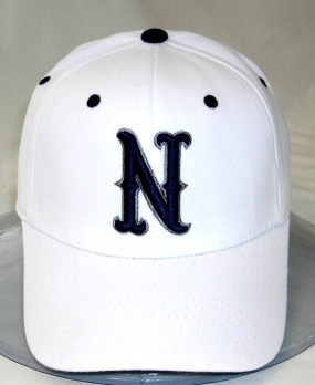 Nevada Wolfpack White One Fit Hat