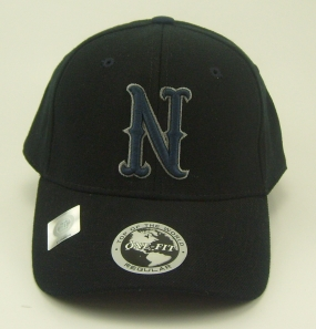 Nevada Wolfpack Black One Fit Hat