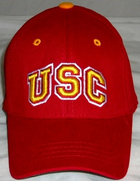 USC Trojans Youth Team Color One Fit Hat
