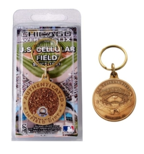 US Cellular Field Bronze Infield Dirt Keychain