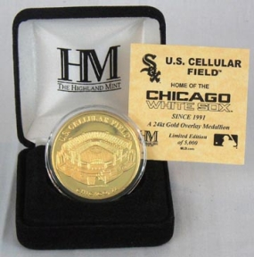 U.S. Cellular Field 24KT Gold Commemorative Coin