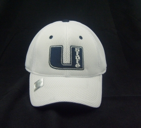 Utah State Aggies White Elite One Fit Hat