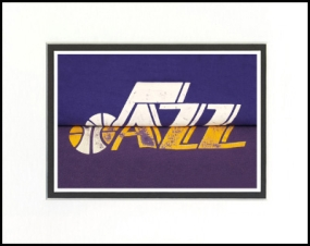 Utah Jazz Vintage T-Shirt Sports Art